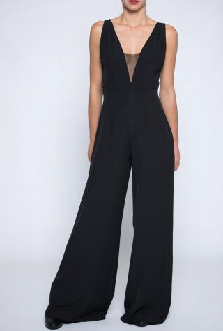 Twenty29 μαύρη ολόσωμη φόρμα