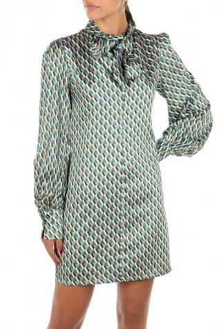 Twenty29 φόρεμα κοντό με γεωμετρικά σχέδια